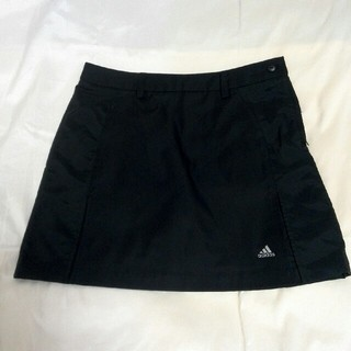 アディダス(adidas)のアディダスゴルフ スカート ブラック(ウエア)