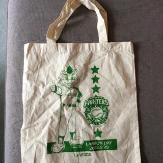 ホッカイドウニホンハムファイターズ(北海道日本ハムファイターズ)の布トートバック(エコバッグ)