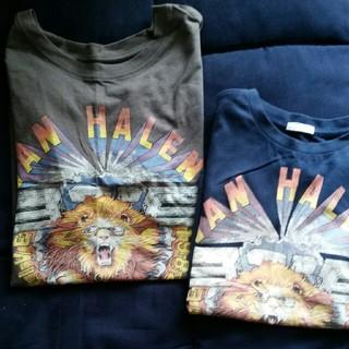 ジーユー(GU)の親子ペアルック Tシャツ(Tシャツ/カットソー)