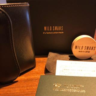 WILD SWANS      ENO  BK(折り財布)