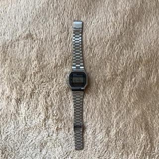 カシオ(CASIO)のチープカシオ シルバー(腕時計(デジタル))