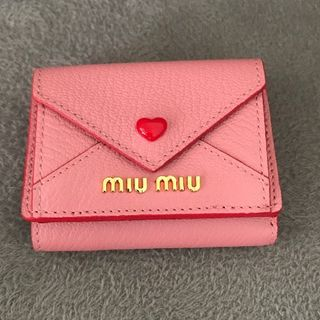 miumiu - MIUMIU ミニ財布