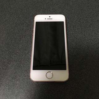 iPhone - SIMフリー iPhoneSE 64GB rosegold 白ロム