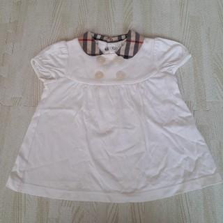 バーバリー(BURBERRY)のBURBERRY 半袖トップス 80(Tシャツ)