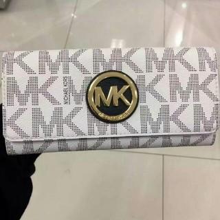 マイケルコース(Michael Kors)の【新品】MICHAEL KORS 長財布 MK柄(財布)