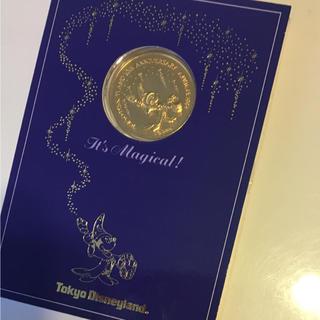 ディズニー(Disney)のTokyo  D isneyland 10th Anniversary コイン(置物)