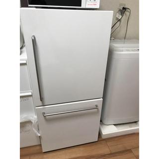 ムジルシリョウヒン(MUJI (無印良品))の無印良品 mj-r16a 冷蔵庫 2015年11月購入(冷蔵庫)