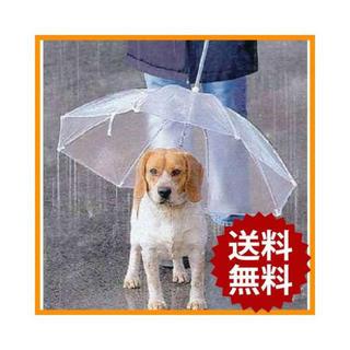ペットアンブレラ 犬 傘 犬用 直径72cm 小型犬 中型犬 軽量 ペット用品(小動物)