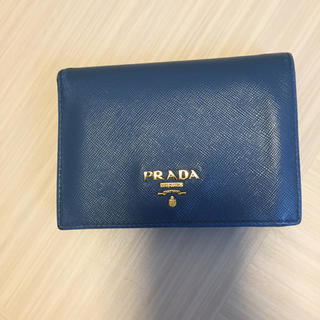 PRADA - PRADA プラダ 小財布 二つ折り