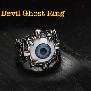 リング デビル ゴースト 目玉 【新品】 18号 メンズ 指輪 チタニウム(リング(指輪))