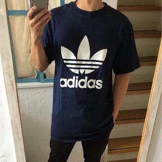 アディダス(adidas)のUSA製 両面ロゴ アディダス ビッグTシャツ サイズXL ナイキ ステューシー(Tシャツ/カットソー(半袖/袖なし))