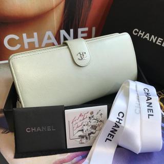 シャネル(CHANEL)の【正規品】美品✨CHANEL シャネル  キャビアスキン 長財布(財布)