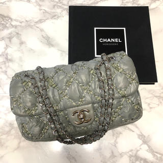 CHANEL - CHANEL パリビザンス マトラッセ ショルダーバッグ チェーンバッグ