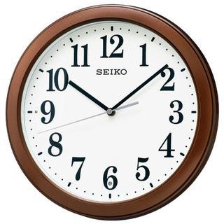 セイコークロック 電波掛時計 コンパクトサイズ プラスチック枠(店舗用品)