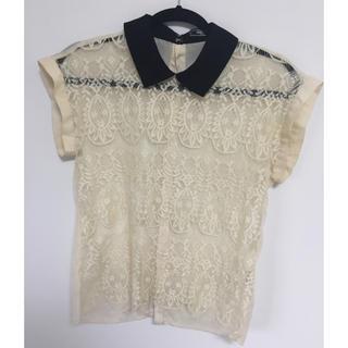 ディディカ(DIDYCA)のDIDYCA レースシャツ(シャツ/ブラウス(半袖/袖なし))