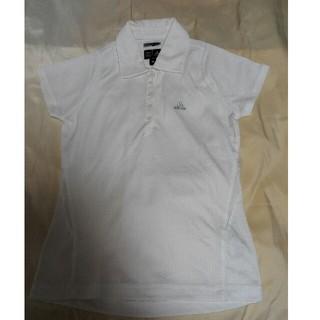 アディダス(adidas)のアディダスゴルフ ポロシャツ ホワイト(ウエア)