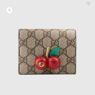 グッチ(Gucci)のGUCCI チェリー 二つ折り財布 未使用(財布)