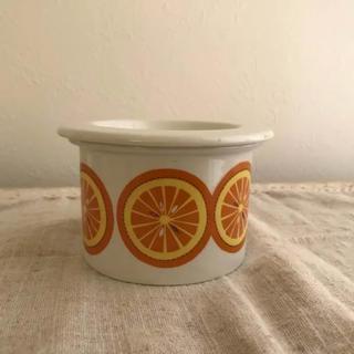 アラビア(ARABIA)のアラビア ポモナ ジャムポット オレンジ(食器)