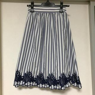 ザラ(ZARA)のスカート(ひざ丈スカート)