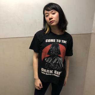 ディズニー(Disney)のスターウォーズ  Tシャツ   XS  ダースベイダー  ダークサイド  ♢22(Tシャツ/カットソー(半袖/袖なし))
