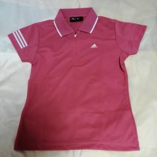 アディダス(adidas)のアディダスゴルフ ポロシャツ コーラル(ウエア)