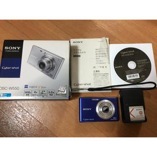 ソニー(SONY)のSONY Cyber-shot DSC-W550 ジャンク(コンパクトデジタルカメラ)