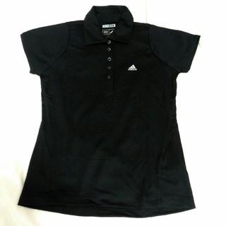 アディダス(adidas)のアディダスゴルフ ポロシャツ ブラック(ウエア)
