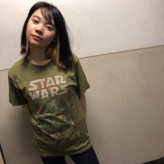 ディズニー(Disney)のオールドネイビー    Tシャツ  スターウォーズ  M  ♢28(Tシャツ/カットソー(半袖/袖なし))
