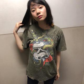 ディズニー(Disney)のスターウォーズ  Tシャツ  M ♢29(Tシャツ/カットソー(半袖/袖なし))