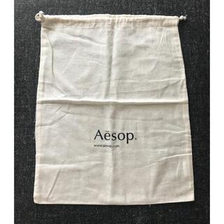 イソップ(Aesop)の【新品】イソップ 巾着 大 Aesop  shop bag(ショップ袋)