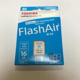 無線LAN搭載 Flash Air Wi-Fi SDHCカード 16GB  (その他)