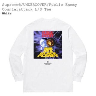 シュプリーム(Supreme)のSupreme Undercover public enemy(Tシャツ/カットソー(七分/長袖))