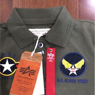 アルファインダストリーズ(ALPHA INDUSTRIES)のアルファポロシャツ    さやす様専用(ポロシャツ)