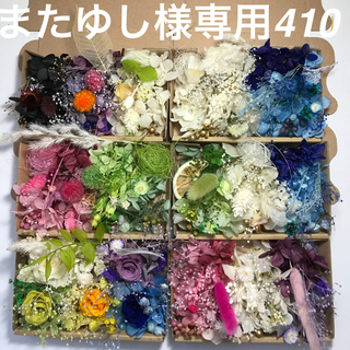 またゆし様 専用 花材セット   410(プリザーブドフラワー)