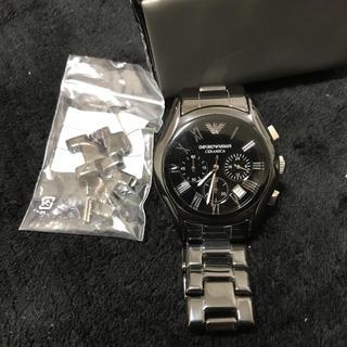 エンポリオアルマーニ(Emporio Armani)のエンポリオアルマーニクロノグラフ時計(腕時計(アナログ))