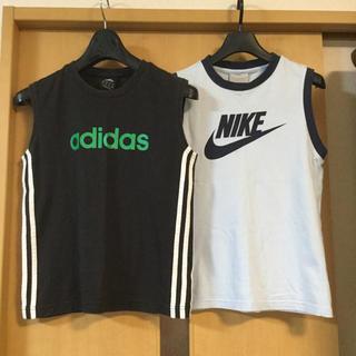 アディダス(adidas)のアディダス ナイキ タンクトップセット140 SOLDOUT(Tシャツ/カットソー)