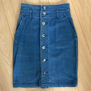 オゾック(OZOC)のOZOC ♡ デニムスカート(ひざ丈スカート)