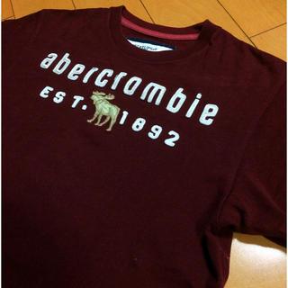 アバクロンビーアンドフィッチ(Abercrombie&Fitch)のアバクロエンジコットンT(Tシャツ/カットソー(半袖/袖なし))