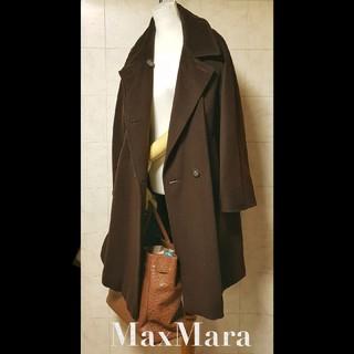 マックスマーラ(Max Mara)の超高級 マックスマーラ 美品 最高級本場イタリア製 肉厚コート セレカジスタイル(チェスターコート)