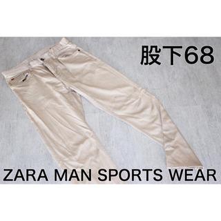 ザラ(ZARA)の美品 ZARA MAN SPORTS WEAR ザラマン S チノパン 綿パン(チノパン)