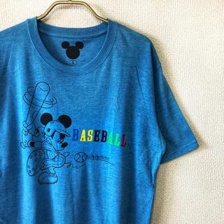 ディズニー(Disney)の【90s vintage】mickey tee メンズ L 古着 ディズニー(Tシャツ/カットソー(半袖/袖なし))