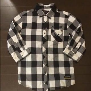 ズーヨーク(ZOO YORK)の美品 ◆ ZOO YORK 七分袖シャツ Lサイズ(シャツ)