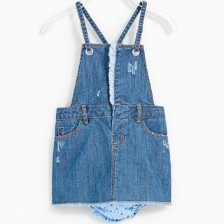 新品 デニム サロペット スカート サイズ90