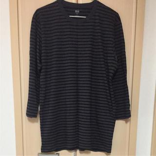ユニクロ(UNIQLO)の美品!UNIQLO☆カットソー(Tシャツ/カットソー(七分/長袖))