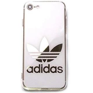 アディダス(adidas)のiPhone7 iPhone8 アディダス 鏡面ロゴ (iPhoneケース)