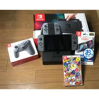 ニンテンドースイッチ(Nintendo Switch)のNintendo Switch Joy-Con (L) / (R) グレー(家庭用ゲーム本体)