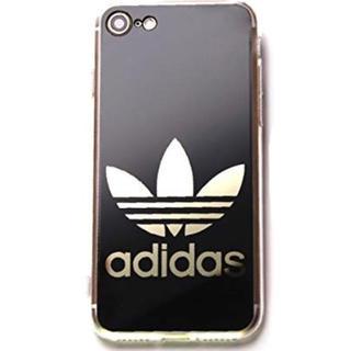 iPhone7 iPhone8 アディダス 鏡面ロゴ