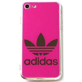 アディダス(adidas)のiPhone7 iPhone8 アディダス 鏡面ロゴ(iPhoneケース)