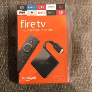 アマゾン Amazon Fire TV 4K HDR 対応 音声認識リモコン付属(その他)