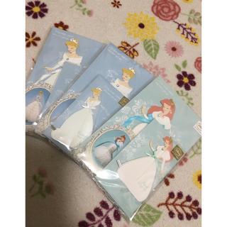 ディズニー(Disney)の新品 未開封 プリンセス ハニカムカード 三点セット(カード/レター/ラッピング)